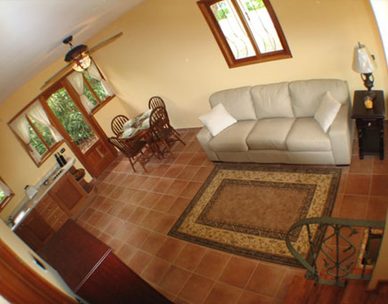 Casa Vacanza - Costa Rica (jaco -  Puntarenas - ) ~ living room and kitchen corner